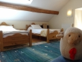 Room 5.6 Family suite, childrens room Bareges accommodation