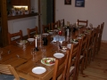 The chalet dining table