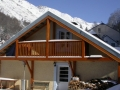 Chalet les Cailloux in Winter, Bareges, Grand Tourmalet