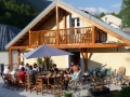 Chalet les Cailloux in the summer, Bareges