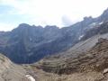 11 The view from the Col du Sarradets into the Cirque de Gavarnie