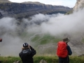 37 the sea of cloud disperses in the canyon of Ordesa