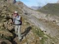 4 The climb to Sarradets under the Taillon peak