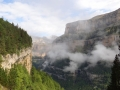 56 clouds in the Ordesa canyon, Pyrenees National Park