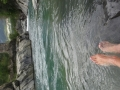 63 Foot cooler and swimming spot near Torla