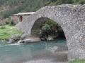 74 st nicolas de bujaruelo bridge on the old Santiago trail back into France and Gavarnie