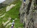01 Rock climbing Pyrenees multi acitivty