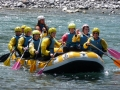 White water rafting gave de Pau, Pyrenees activity holiday