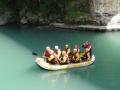 20 Pyrenees rafting team