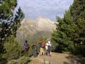 21 leaving Refuge Oredon Pyrenees lake district
