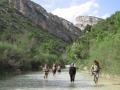 Day 5. Canyon walking in Aragon Spanish Pyrenees