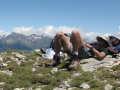 The Spanish pace of life. Pyrenees trekking vacation