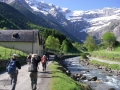 Main path to the Cirque de Gavarnie