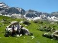 Rock stop, hiking trip