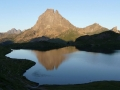 lac Ilheou by the Pic du midi d'Ossau