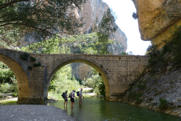 Guided walking holiday in the Spanish Pyrenees
