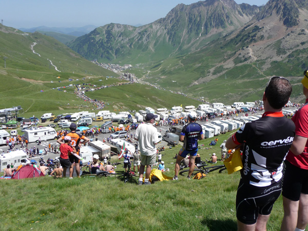 Supported cycling holiday Pyrenees tour de France