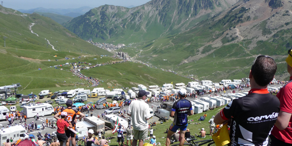 road bike supported cycling holiday vacation Pyrenees Tour de France
