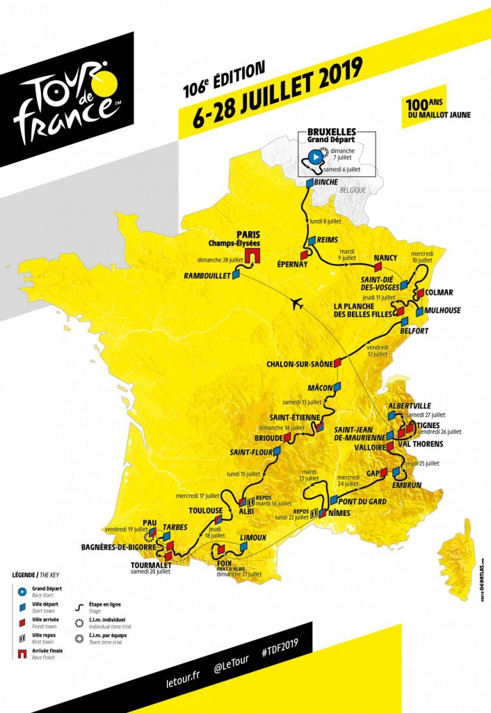 Guided cycling holidays with road support in the Pyrenees for the Tour de france 2019