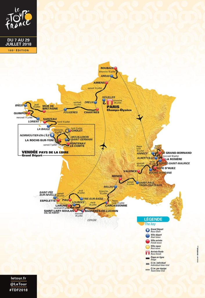 Cycling the Tour de France in the Pyrenees, Lourdes, Tourmalet, Aspin,, Bagneres de Luchon, St Lary.