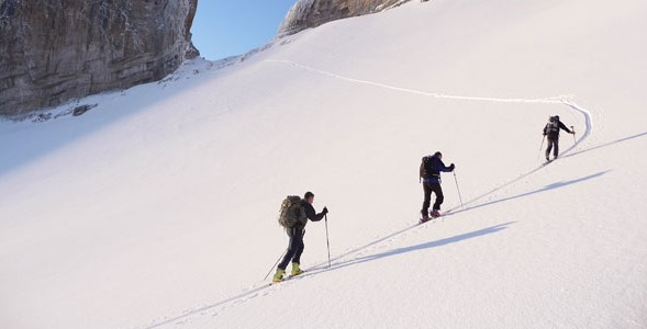 Ski touring Pyrenees, guided ski touring holidays in the Pyrenees
