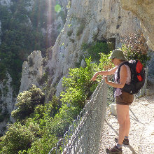 Cathar walking day 5 - Galamus