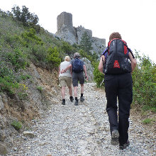 Cathar walking day 7 - Queribus