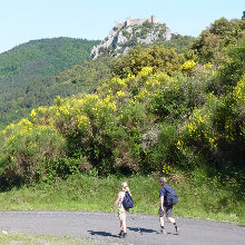Cathar walking - puilaurens