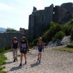 Peyrepertuse Cathar Castle, guided historical walking tour