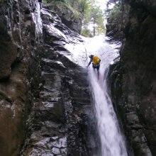 Pyrenees long weekend canyoning expedition holiday