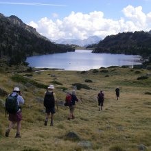 Pyrenees walking in the Neouvielle lake district