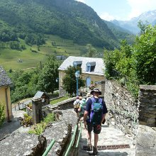 Pyrenees village walk